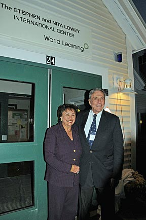 Stephen and Nita Lowey launch scholarship fund to support SIT Graduate students
