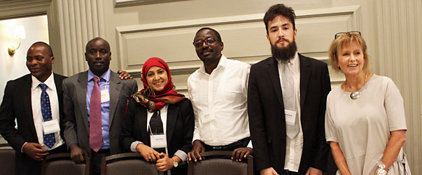 At Harvard, SIT Global Scholars share stories of challenge and hope