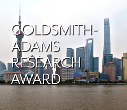 Goldsmith Adams Research Award Logo