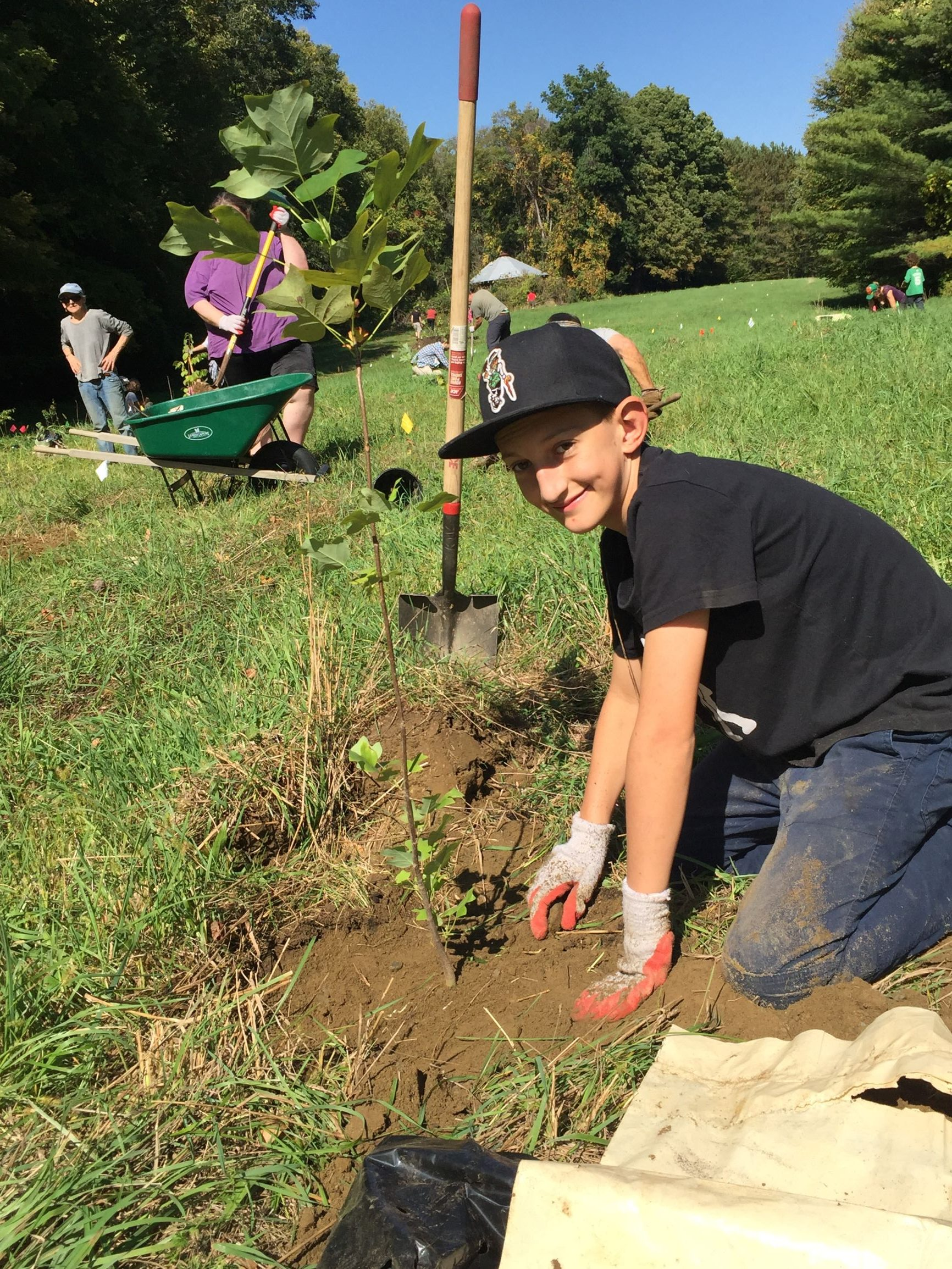 SIT capstone leads to a memorial forest that inspires a brighter future